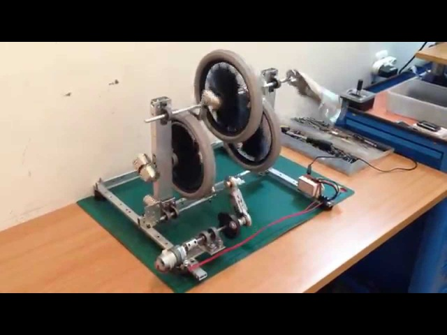 Magnets Neodymium Motor Operation System X 3 (No Free Energy! Or Perpetual Motion)