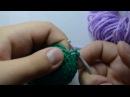 Видеоурок 3 Меняем цвет пряжи при вязании крючком Сбн Вп от Бени 3