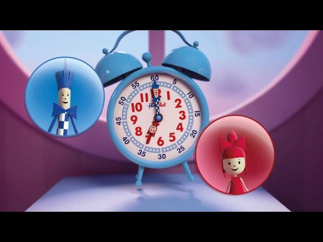 Apprends à lire l'heure avec Flik et Flak