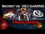 EPIC BO3 Series! Secret vs. VG Semi Finals Dota 2