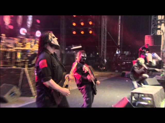 SlipKnot - Wait And Bleed (Live At Download 2009)