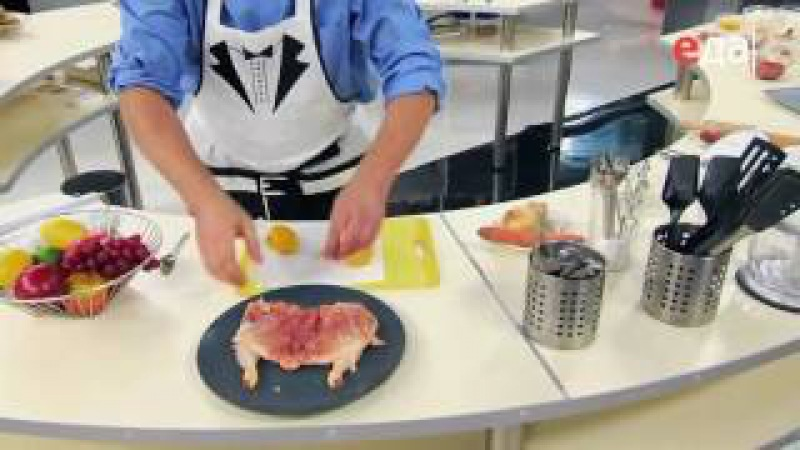 Цыплёнок табака культовое блюдо ресторанов СССР рецепт от шеф повара Илья Лазерсон смотреть онлайн без регистрации