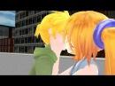 Goodbye kiss (REGULAR SHOW) LEN x NERU