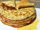 Блины ПШЕННЫЕ БЛИНЧИКИ Крестьянские Старый рецепт Russian thin pancakes