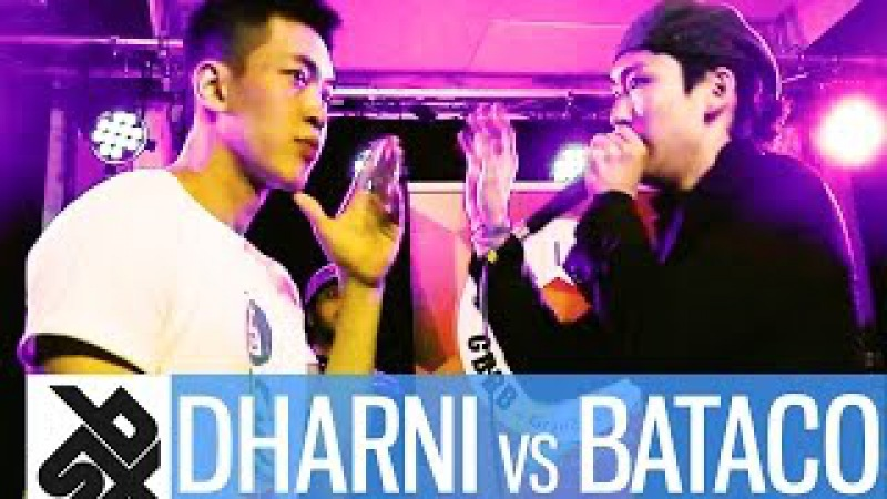 DHARNI vs BATACO | Grand Beatbox 7 TO SMOKE Battle 2016 | Battle 3