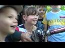 1 чэрвеня ў гарадскім парку адбылося святочнае мерапрыемства для дзяцей і іх бацькоў