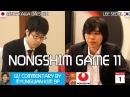 Lee Sedol 9p vs Murakawa Daisuke 8p, Nongshim Cup 10, 3/1 at 630am GMT 1030pm PST