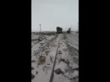 Взрыв при сливе шлака на снег