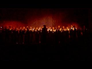 Хор  loretto  - плачут свечи 50 лет муз.училищу