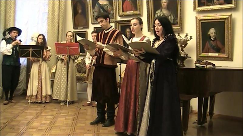 К. Монтеверди. Fugge il verno dei dolori (Scherzi Musicali 1607). Фрагмент.