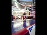 Мой первый бой. Кикбоксинг.