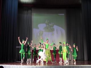 "Сцена из балета ""Дюймовочка"""