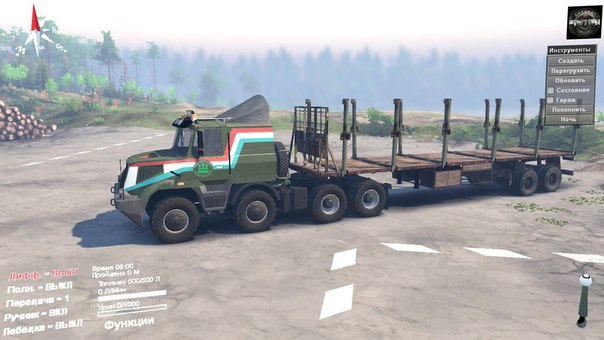 TATRA Jamal 8x8 для Spintires - Скриншот 1