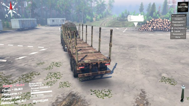 TATRA Jamal 8x8 для Spintires - Скриншот 2