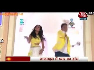 Рави Дубей и Ниа Шарма - Танец (ZRA 2014)