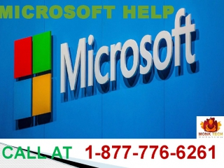 Dial Microsoft help number 1-877-776-6261 to Acquire Instant Help