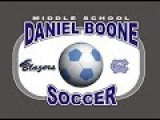 2014-10-03 Daniel Boone Blazers MS Soccer vs Conrad Weiser JV