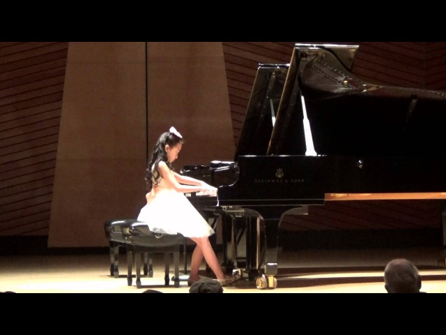 Harmony Zhu (age 9) - Chopin Scherzo No.1 in B Minor Op.20