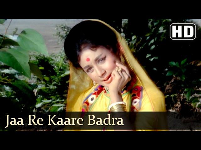 12 Jaa Re Kaare Badra HD Dharti Kahe Pukarke Songs Sanjeev Kumar Nanda Lata Mangeshkar