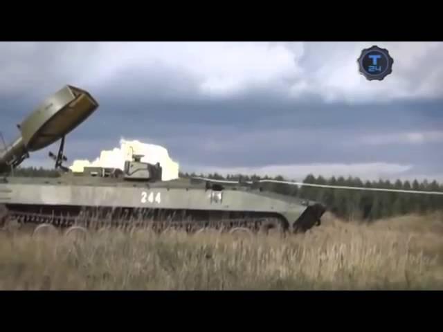 Установка разминирования УР 77, русский Змей Горыныч. Россия
