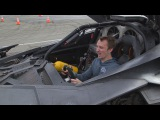Batman v Superman Ultimate Edition DRIVING THE BATMOBILE!!