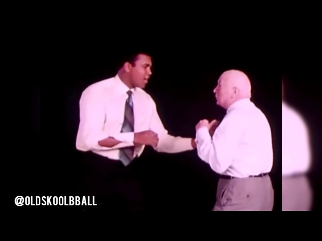 Muhammad Ali Cus D'Amato Showing Boxing Skills Real Talk