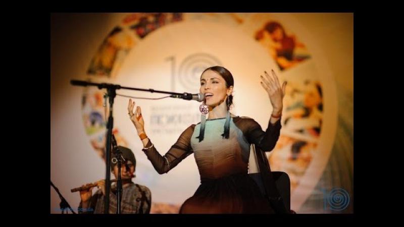 Этнический концерт Сати Казановой (Live). Фестиваль Психология 3000