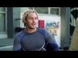 Avengers Age of Ultron Interview - Aaron Taylor-Johnson  Quicksilver