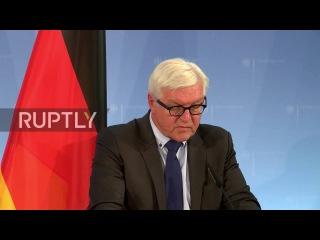 Германия: Штайнмайер в контакте с Россией для более сильной Украины о прекращении огня.