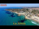 4K видео с воздуха, Испания, пляжи La Zenia, Playa Flamenca, Orihuela Costa, дрон DJI Phantom 3