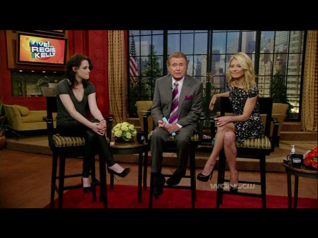 Kristen Stewart interviewed by Regis Kelly about, The Runaways HD 3-16-2010