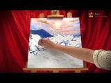 Как раскрашивать картины раскраски по номерам на холсте