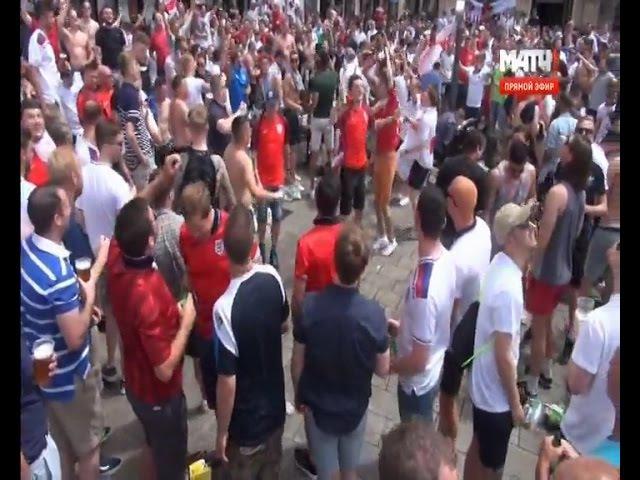 Евро 2016. Английские фанаты устраивают беспредел и драки в Марселе