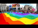 GAY PRIDE in LONDON, parade and FESTIVAL (London's LGBT community)