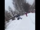 [Нетипичная Махачкала] Без палева закинул в снег