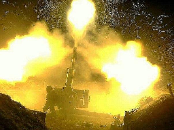 Этой ночью укра-фашисты снова обстреливают Донецк и Горловку