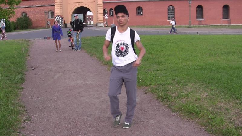 Перикиту Самба, базовый шаг (2)