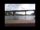 Сплав на самодельном плоту по реке Тверце