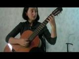Урок 1 (классическая гитара, аккомпанемент пению)