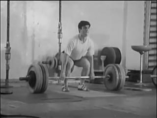 [Фильм 1] Тяжелая Атлетика, СССР фильм, обучение