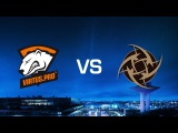 Virtus.Pro vs. Ninjas in Pyjamas - Train - Game 2 - Quarter-final - DreamHack Masters Malmö 2016