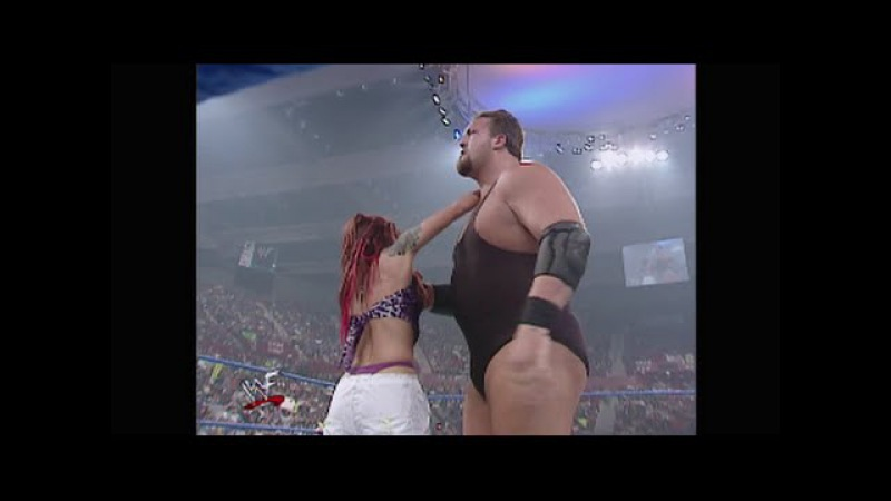 WWF SmackDown! 04.05.2001: Jeff Hardy with Lita vs. Big Show (HD)