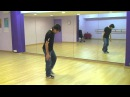 Видео уроки танцев Kneedrop Break Dance hip hop how to basic step tutorial como aprender pasos Kneedrop