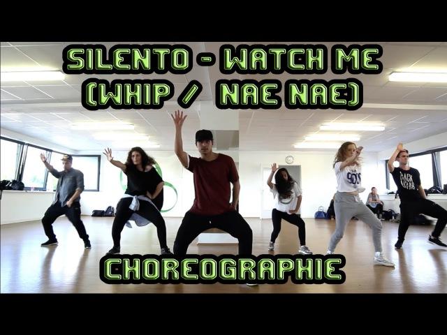 Видео уроки танцев (Hip-Hop)   - Hip Hop Choreographie (Einsteiger)   Silento - Watch Me (Whip/Nae Nae) WatchMeDanceOn   Kurs Video