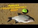 Рыбалка с эхолотом Практик 7 Фидер