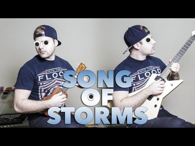 The Legend Of Zelda Song Of Storms Ukulele Metal Cover