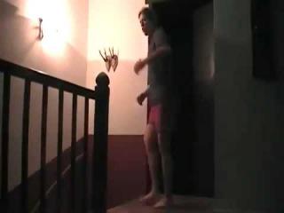 Поляк показывает как пробивать лоу кик