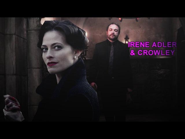Superlock| Irene Adler and Crowley||Waiting Game