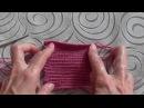лицевая гладь крючком СОЕДИНИТЕЛЬНЫЕ СТОЛБИКИ slip stitch crochet