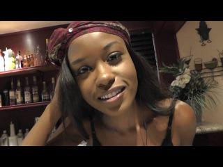 Ebony porn star Jezabel Vessir